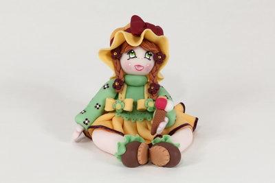 Camilla (bambolina in pasta di mais)