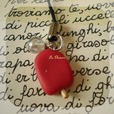 RED ICICLE phonestrap