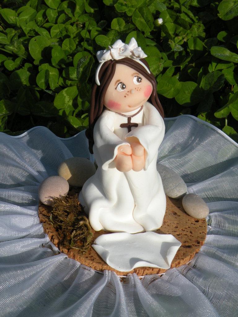 Cake Topper-Sopratorta (Battesimo, Comunione ecc)