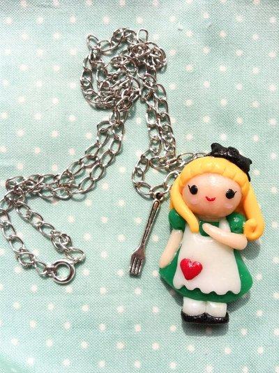 Alice con forchettina