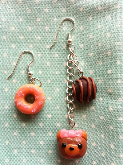 Chocolate bear&donut