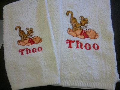 asciugamano+ospite