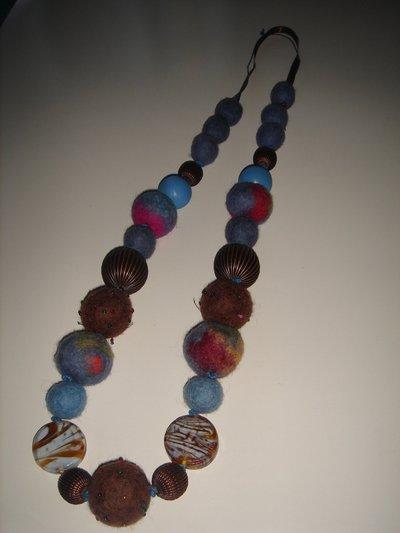collana blu-rame