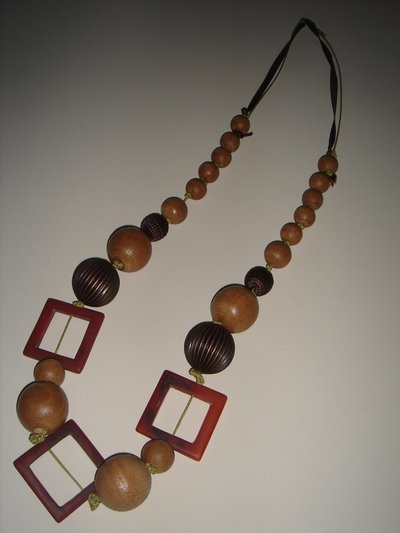 collana legno-rame