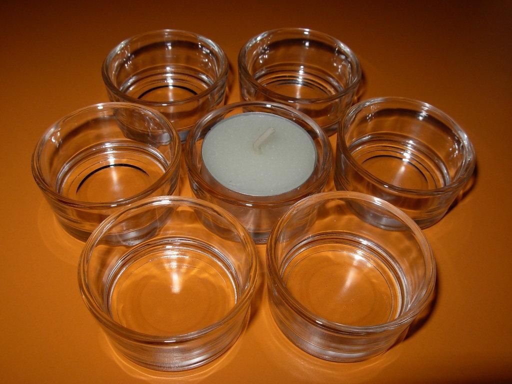 Portacandele vetro gioielli bracciali e cavigliere - Portacandele in vetro ...