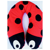 "Cuscino Allattamento - ""Make it Fun"" Coccinella"