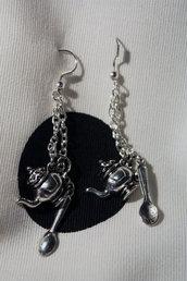 orecchini teiera
