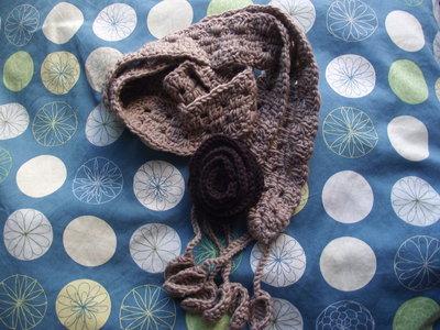 Sciarpetta fiore / Bufanda flor