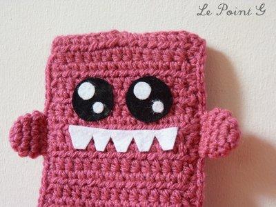 Astucchio Mostro rosa per Iphone