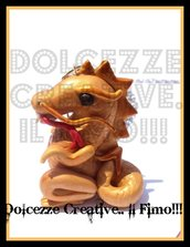 ★★SALDI Collana Drago Giapponese ドラゴン