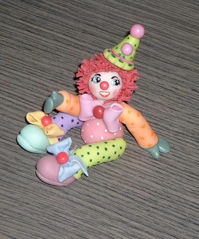 Clown in pasta di mais mod.3
