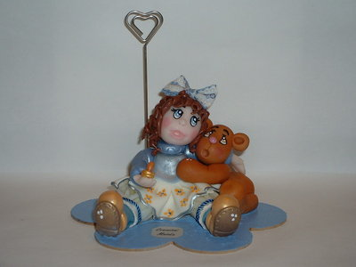 Paola&Teddy - Cake Topper
