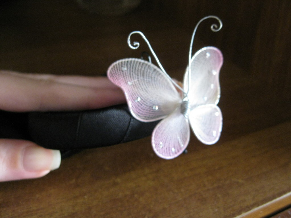 bracciale con farfalla