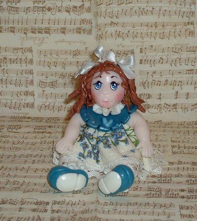 Claudia (bambolina in pasta di mais)