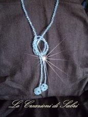 Completo collana,anello e orecchini