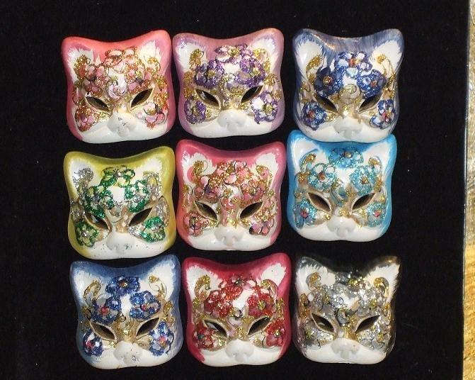 Magneti o spille in ceramica