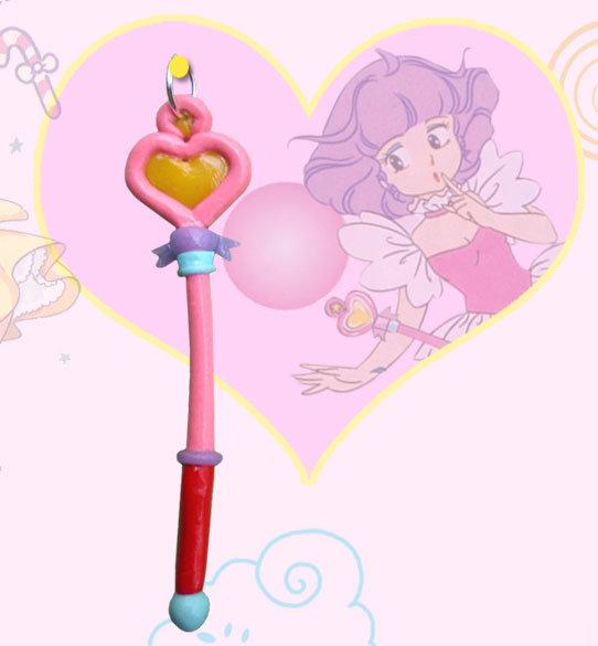 Bacchetta wand magica di creamy in cernit
