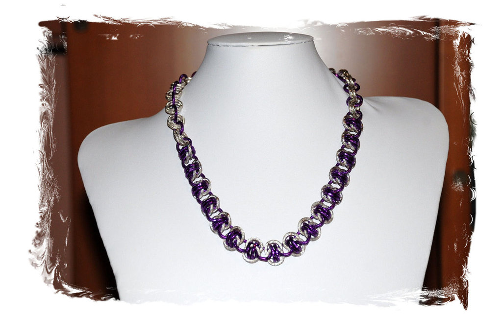 """Collana Chainmaille """"Canada"""""""
