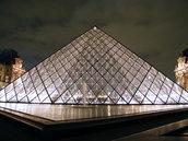 """Les pyramides""- Museo del Louvre- Parigi- home decor"