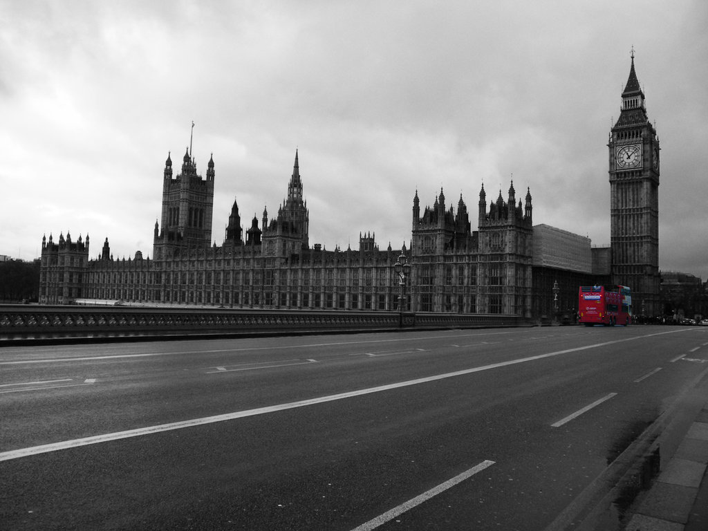 Londra- Houses of Parliament- Westminster Bridge- Fotografia- home decor