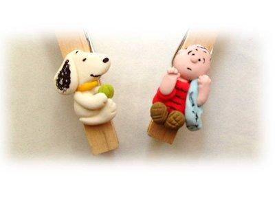 Molletta segnaposto Linus Snoopy