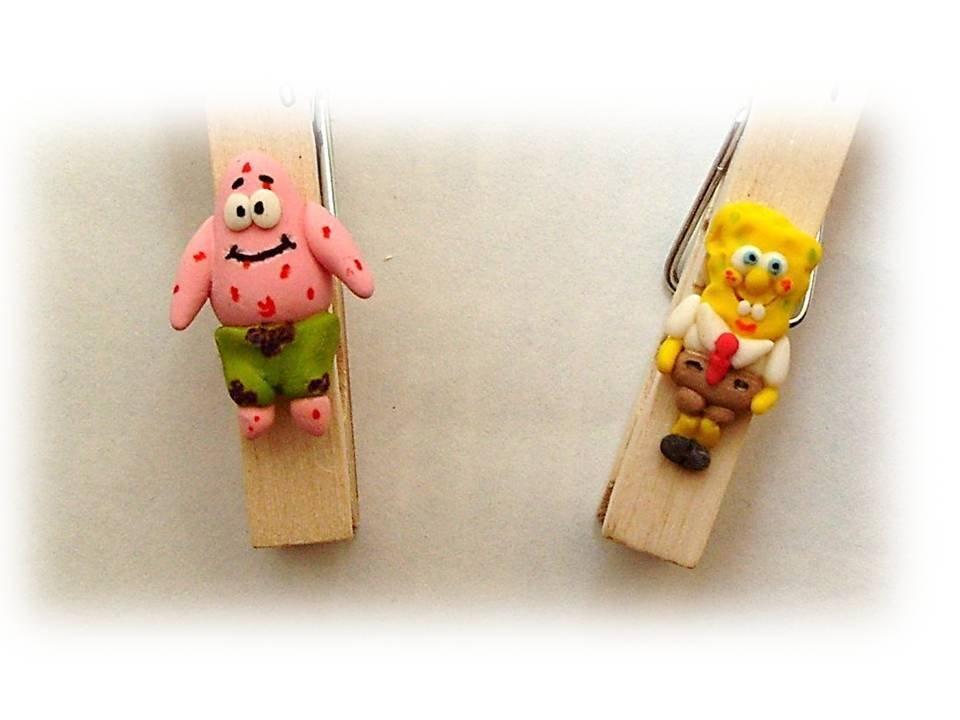 Mollette SpongeBob e Patrick