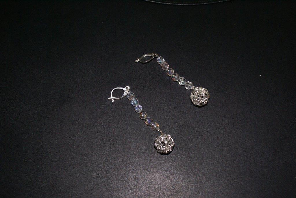 Orecchini con filigrana in argento