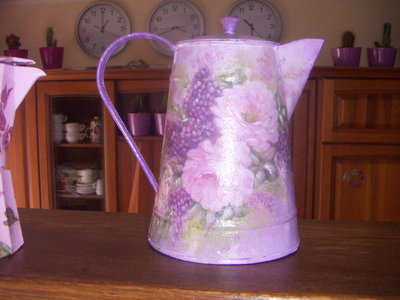lattiera decoupage