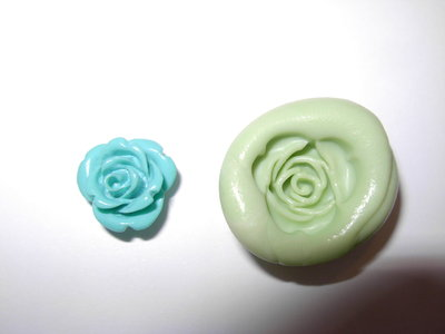 stampo rosellina in gomma siliconica