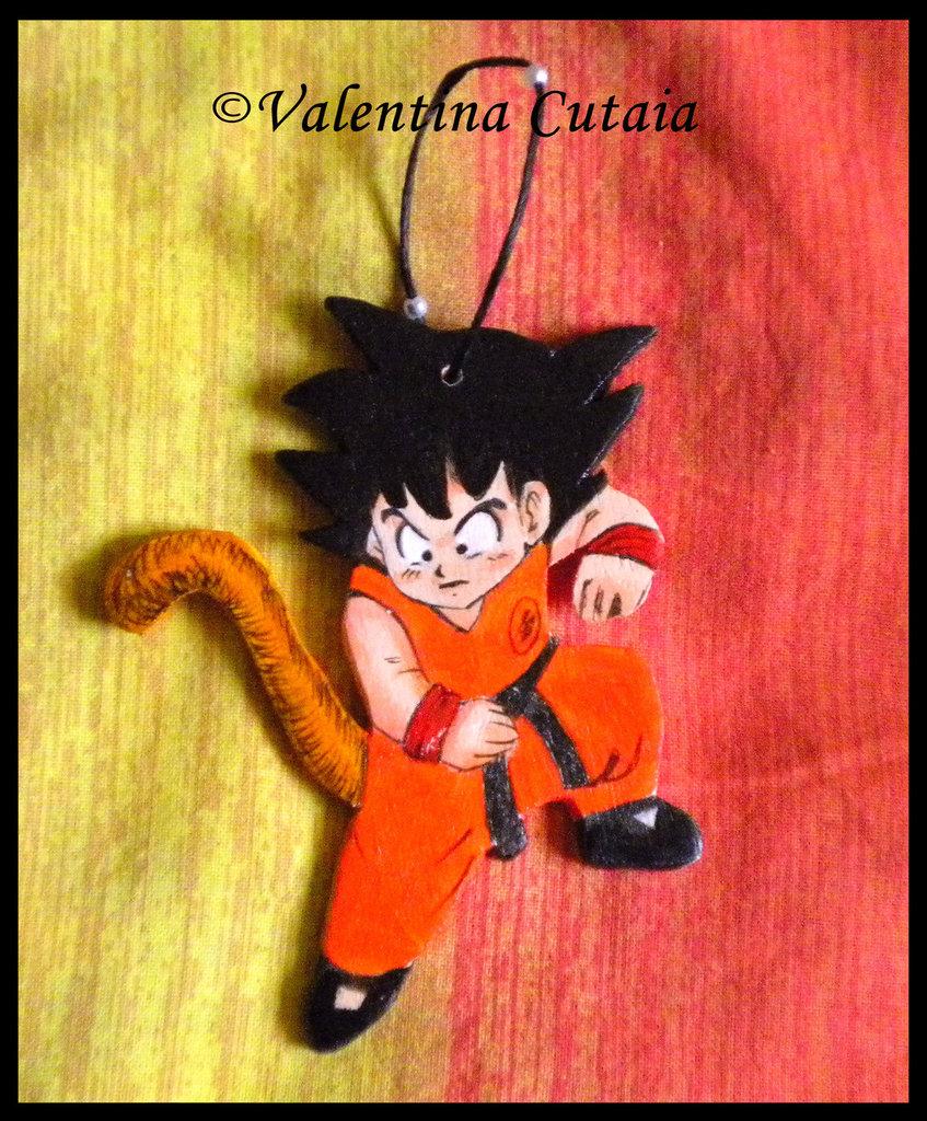 """Portachiavi """"Goku"""" (Dragon Ball)"""
