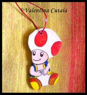 "Portachiavi ""Toad"" (fungo baby di Super Mario Bros)"