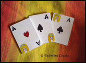 "Calamite ""Carte di Alice in Wonderland"""