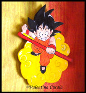 "Calamita ""Goku"" (Dragon Ball)"