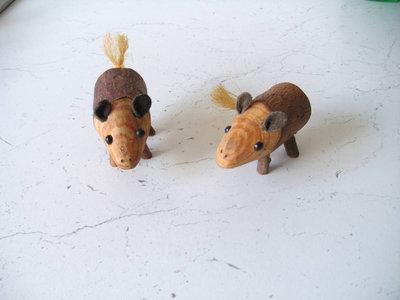 2 Topolini in legno