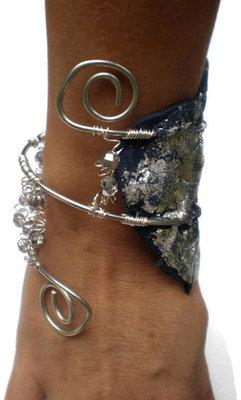 Etnic crystal slave bracelet
