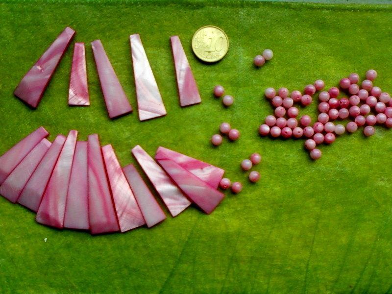 lotto di pietrine rosa come in foto