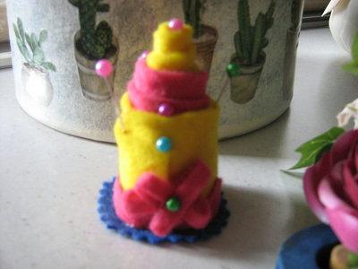 segnaposto cake topper