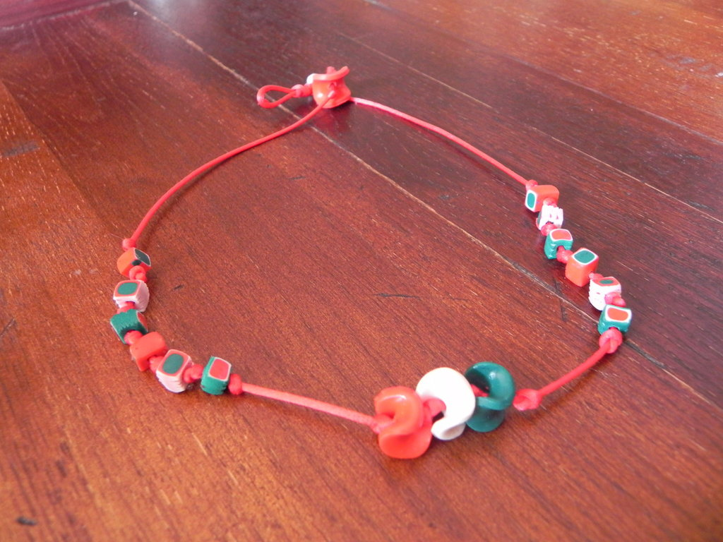 Collana tricolore