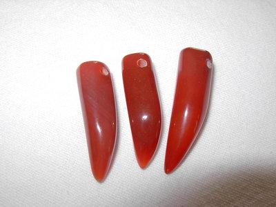 3 cornetti in corniola