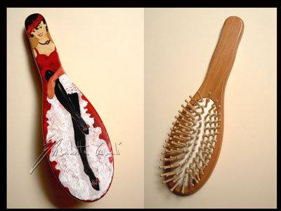 spazzola per capelli french cancan