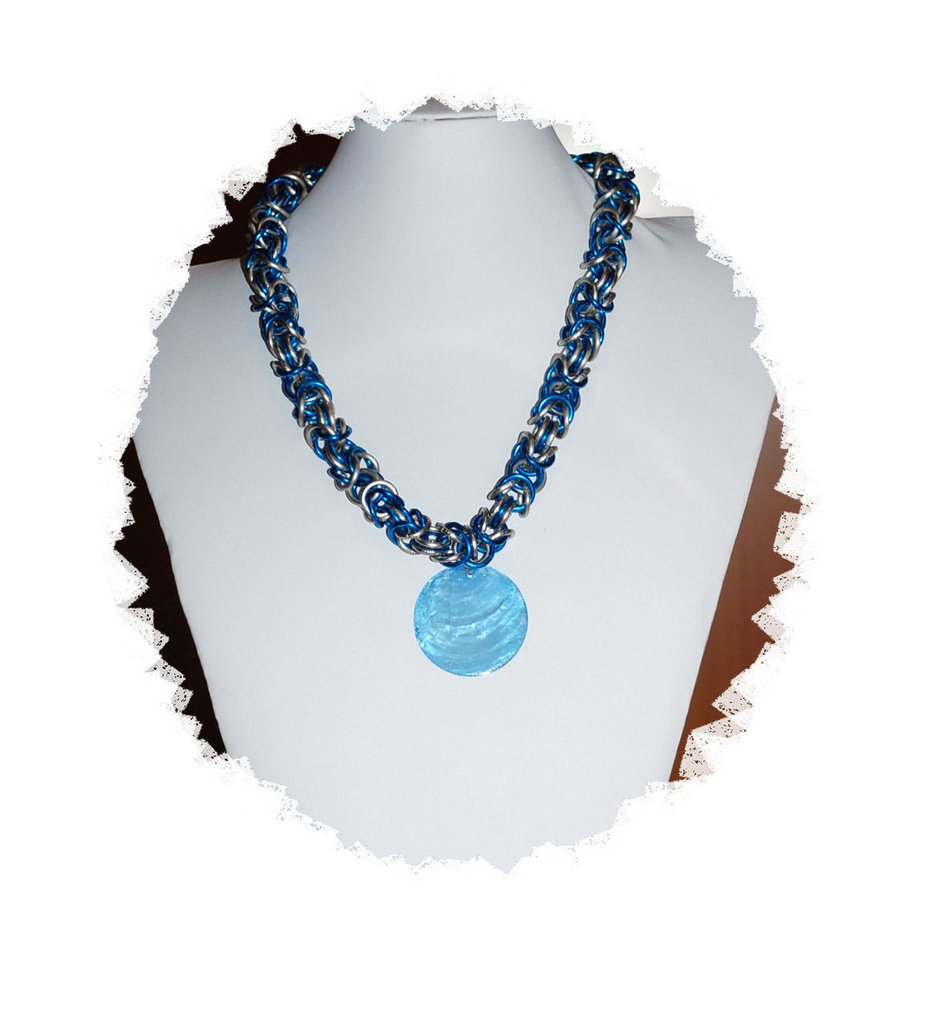 """Collana Chainmaille """"Colombia"""""""