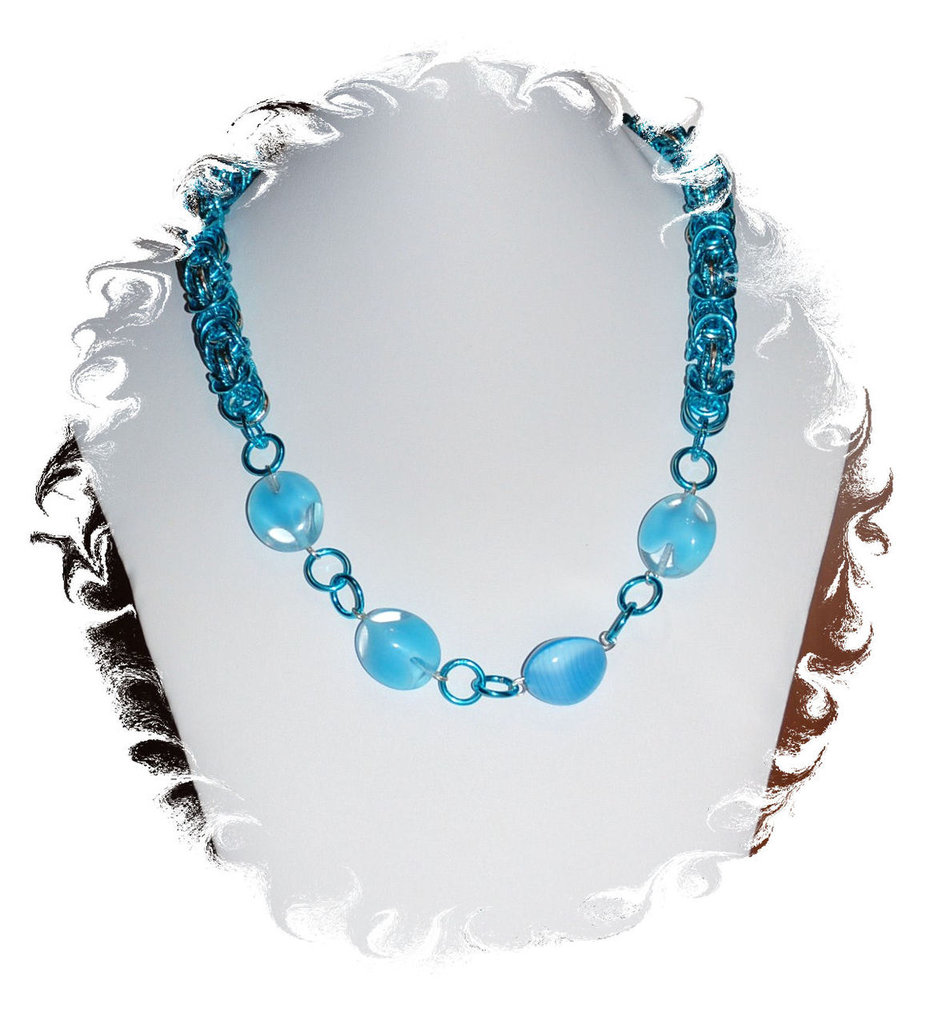"Collana Chainmaille ""Honolulu"""