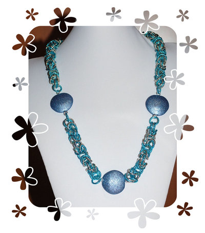"Collana Chainmaille ""Panama"""