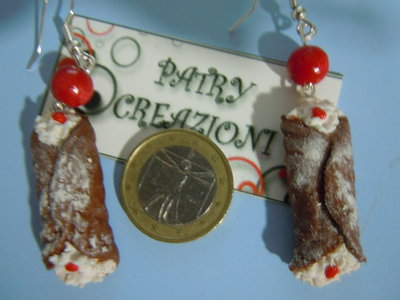 orecchini cannoli