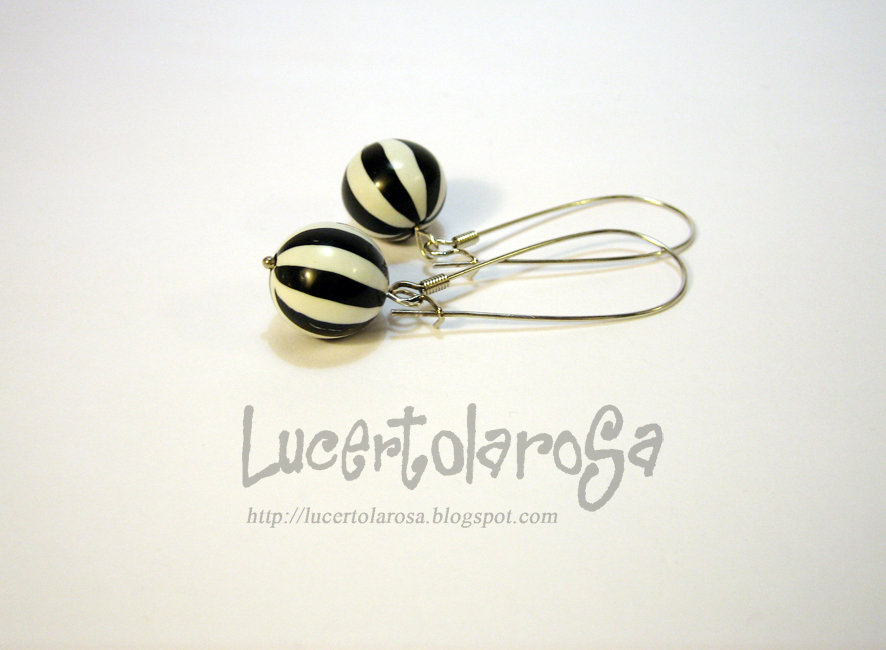 Orecchini balloon/ Balloon earrings