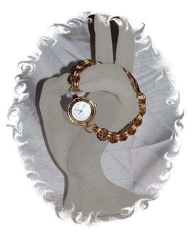 Orologio con cinturino chainmaille