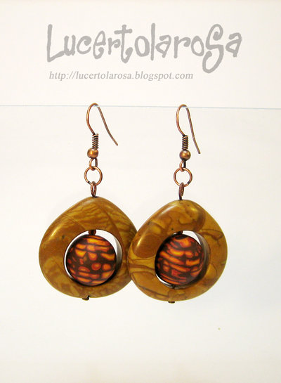 "Orecchini ""exotic journey""/ ""exotic journey"" earrings"