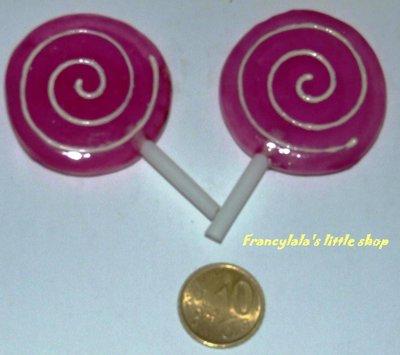 cabochon lollipops