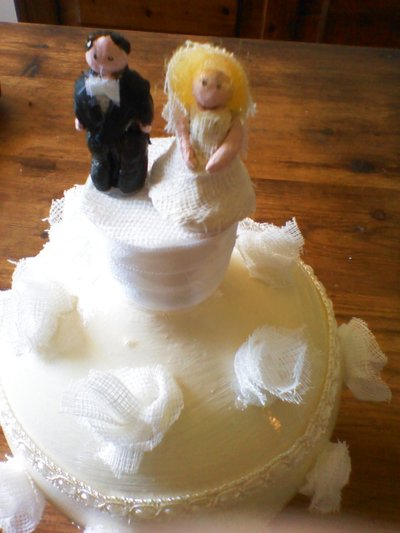 salvadanaio wedding cake