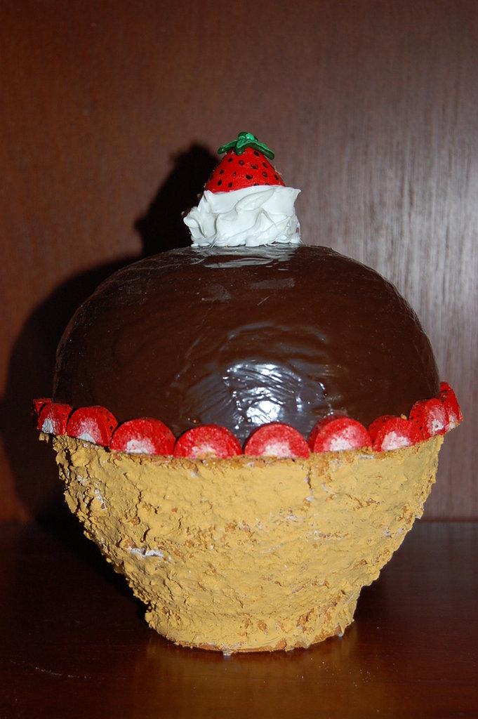 salvadanaio chococake